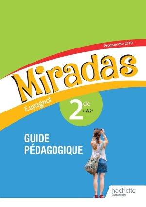 Espagnol 2de A2+ Miradas - hachette - 9782013236003 -