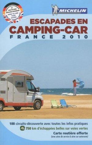 Escapades en camping-car France - Michelin - 9782067147263 -
