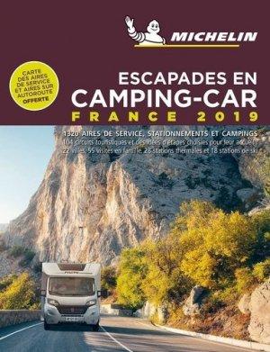 Escapades en Camping-car France - Michelin - 9782067237841 -