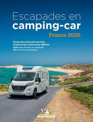 Escapades en Camping-car France - Michelin - 9782067245068 -