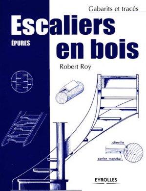 Escaliers en bois - eyrolles - 9782212114867 -