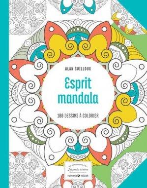 Esprit mandala. 100 dessins à colorier - solar - 9782263146121 -
