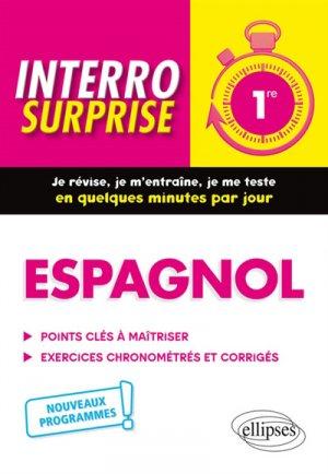 Espagnol 1re - ellipses - 9782340031371 -