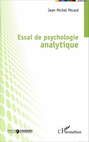Essai de psychologie analytique - l'harmattan - 9782343054148 -