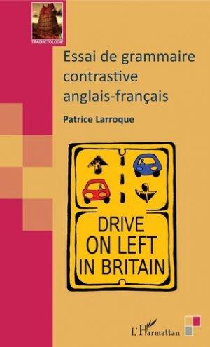 Essai de grammaire contrastive anglais-français - l'harmattan - 9782343165707 -
