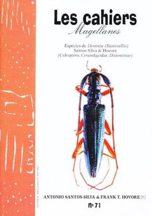 Especies de Distenia (Basivallis) Coleoptera, Cerambycidae, Disteniinae - magellanes - 9782353870066 -