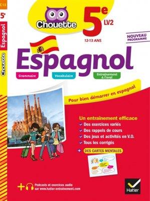 Espagnol 5e LV2 - hatier - 9782401051188 -
