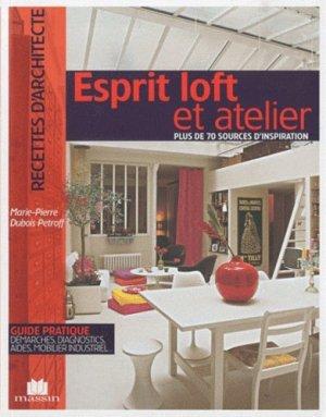 Esprit loft et atelier - massin - 9782707206404 -
