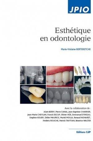 Esthétique en odontologie - cdp - 9782843612657 -