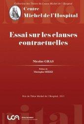 Essai sur les clauses contractuelles - presses universitaires clermont-ferrand - 9782912589521 -