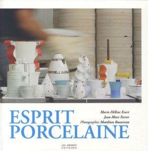 Esprit porcelaine - les ardents  - 9782917032176 -