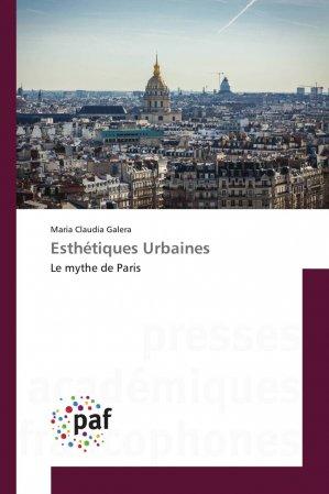 Esthétiques Urbaines - presses académiques francophones - 9783841639721 -