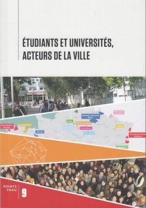 Etudiants et universités, acteurs de la ville - gallimard editions - 9782072804410 -