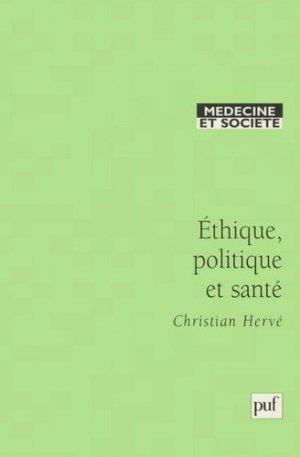 Ethique, politique et santé - puf - presses universitaires de france - 9782130510185 -