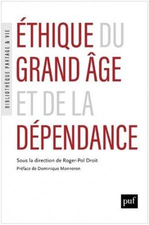 Éthique du grand âge et de la dépendance - puf - presses universitaires de france - 9782130826675 -