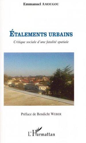 Étalements urbains - l'harmattan - 9782296133495 -