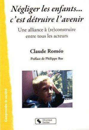 Et si nous protégions nos enfants : une alliance - chronique sociale - 9782367171982 -