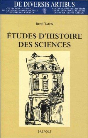 Etudes d'histoire des sciences - Brepols - 9782503510071 -