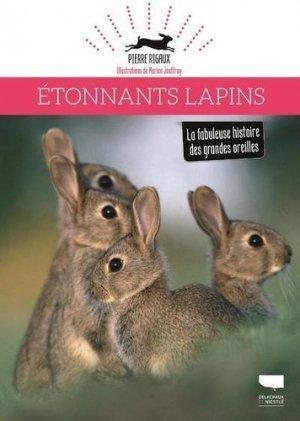 Etonnants lapins - Delachaux et Niestlé - 9782603027097 -