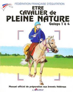 Être cavalier de pleine nature galops 1 à 4-lavauzelle-9782702511930