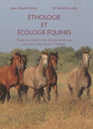 Éthologie et Écologie équines - vigot - 9782711421145 -