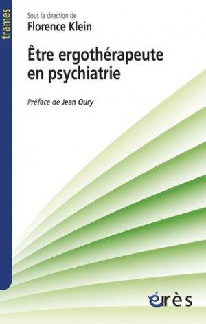 Etre ergothérapeute en psychiatrie - eres - 9782749241227 -