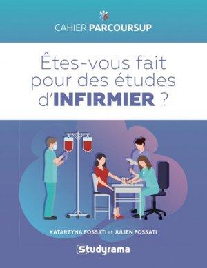 Etes-vous fait pour les études d'infirmier(e) ? - studyrama - 9782759039623 -