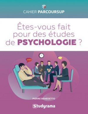 Etes-vous fait pour les études de psychologie ? - studyrama - 9782759039647 -