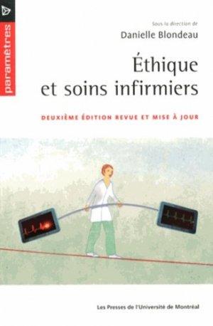 Éthique et soins infirmiers - presses de l'universite de montréal - 9782760631809 -