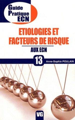 Étiologies et facteurs de risque aux ECN - vernazobres grego - 9782818303771 -