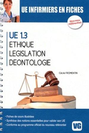 Éthique - Législation - Déontologie - vernazobres grego - 9782818303887 -