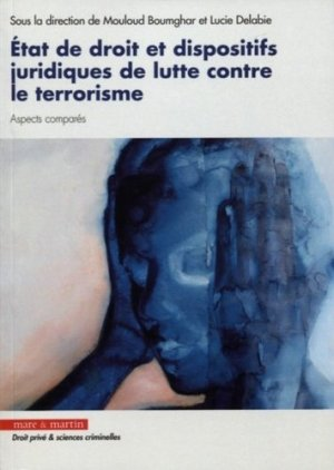 Etat de droit et dispositifs juridiques relatifs à la lutte contre le terrorisme - Editions Mare et Martin - 9782849344620 -