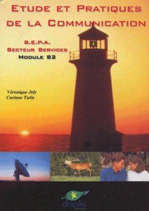 Étude et pratiques de la communication Module S2 BEPA Secteur services - doceo - 9782909662671 -