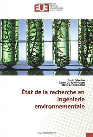 Etat de la recherche en ingénierie environnementale - editions universitaires europeennes - 9786139558650 -