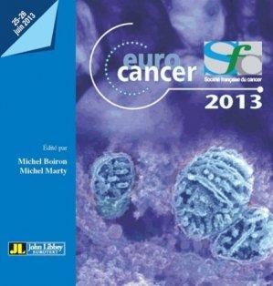 Euro cancer 2013 - john libbey eurotext - 9782742011247