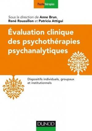 Evaluation clinique des psychothérapies psychanalytiques - dunod - 9782100720682 -