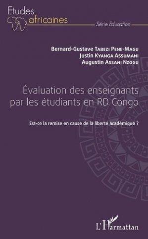 Evaluation des enseignants par les étudiants en RD Congo - l'harmattan - 9782343128047 -