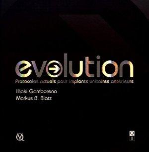 Evolution - quintessence international - 9782366150261 -