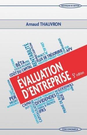 Evaluation d'entreprise - Economica - 9782717871135 -