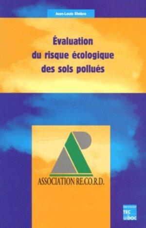 Évaluation du risque écologique des sols pollués - lavoisier / tec et doc - 9782743002206 -