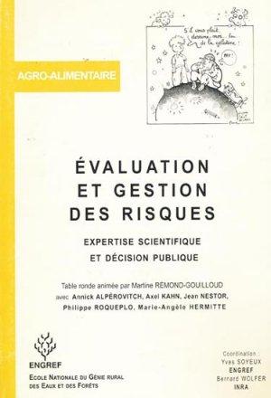 Évaluation et gestion des risques - agroparistech - 9782857100522 -