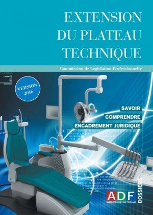 Extension du plateau technique - association dentaire francaise - adf - 2224836303595