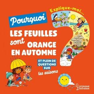 Explique moi - les saisons - Larousse - 9782035958495