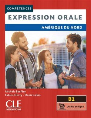 Expression orale B2 Amérique du Nord - cle international - 9782090351750 -