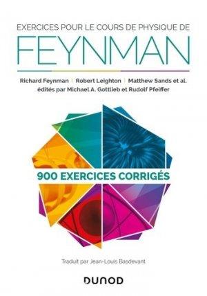 Exercices pour le cours de physique de Feynman - dunod - 9782100810970 -