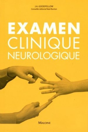 Examen clinique neurologique - maloine - 9782224034382