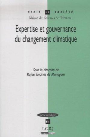 Expertise et gouvernance du changement climatique - LGDJ - 9782275033570 -