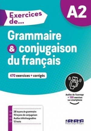 Exercices de Grammaire et conjugaison du français A2 - didier - 9782278095551 -