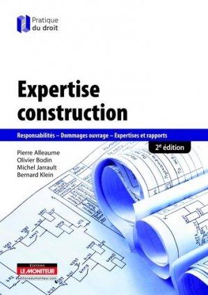 Expertise construction - le moniteur - 9782281129182 -