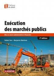 Exécution des marchés publics - le moniteur - 9782281132106 -
